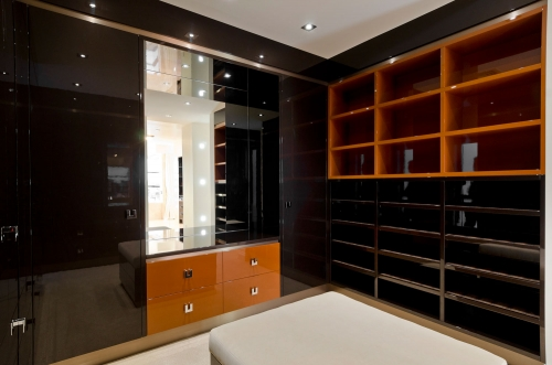 Cuisine Kitchens team design, build and install high end walk-in wardrobes on the Gold Coast