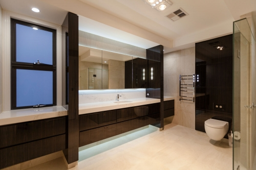 Exemple of bathroom renovation on the Gold Coast