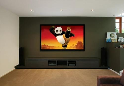 Modern TV cabinet timber finish Gold Coast