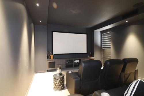 Custom home cinema cabinet Gold Coast